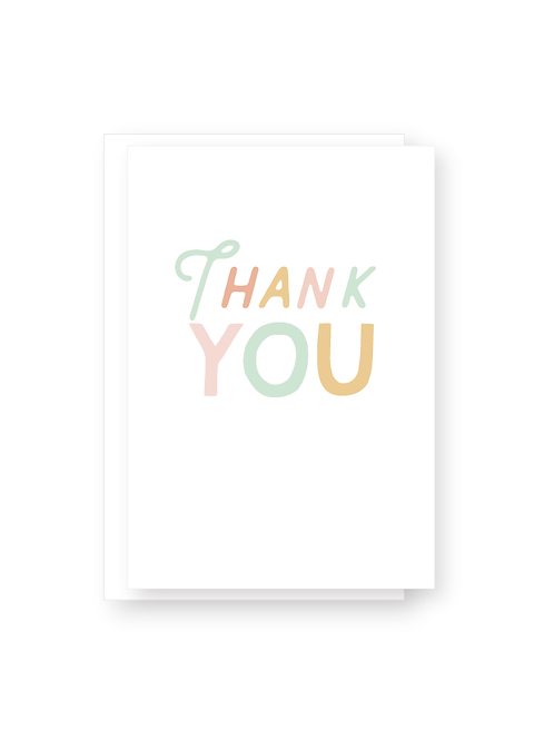 Wholesale Thank You Card Pack