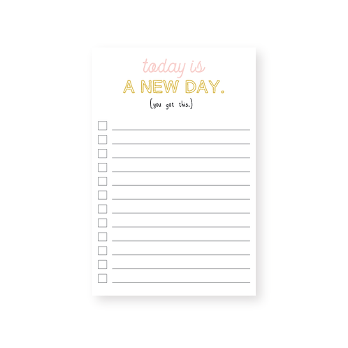 Wholesale New Day Notepad