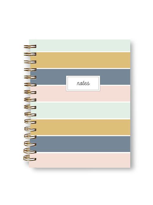 Wholesale Alice Stripe Notebook