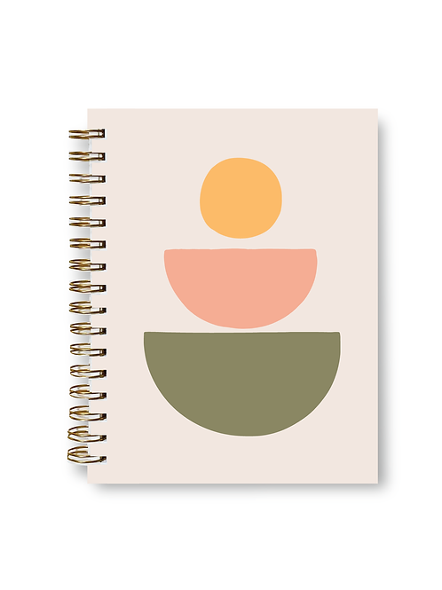 Desert Sun Notebook