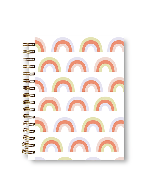 Wholesale Bright Rainbow Notebook