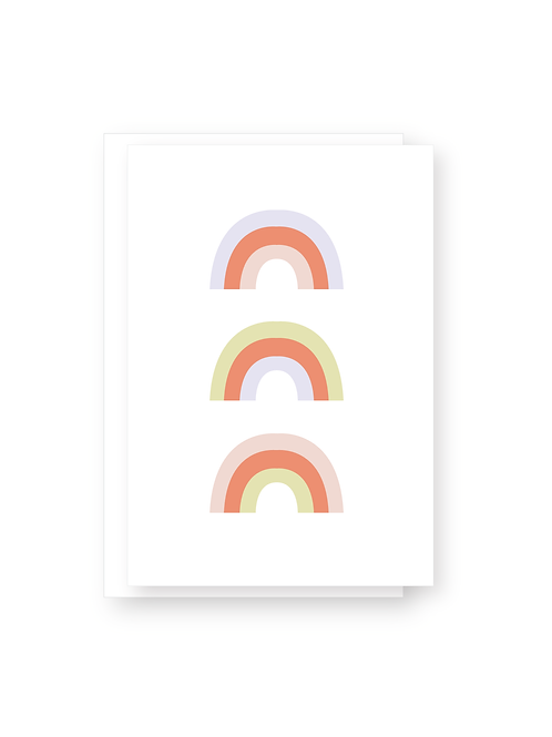 Wholesale Happy Rainbows Card Pack