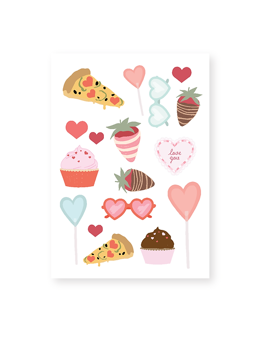 Love Day Sticker Sheets