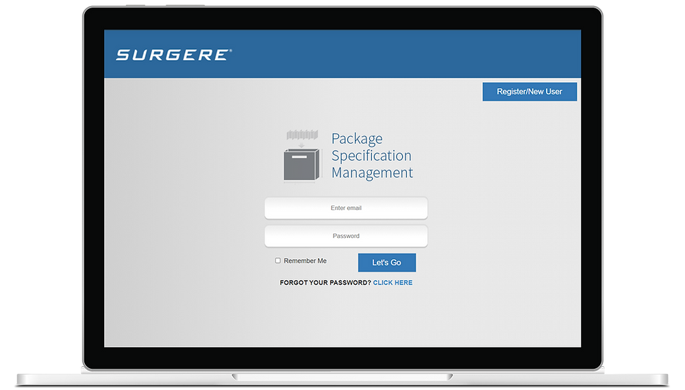 Surgere Interius™ Package Specification Management Module