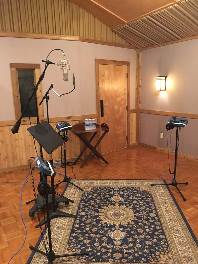 Vocal Recording Session