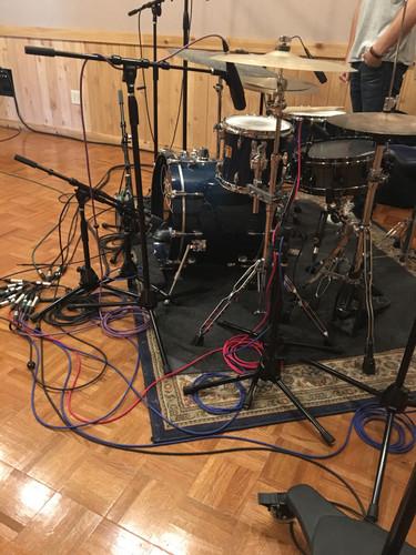 Demo Drum Recording