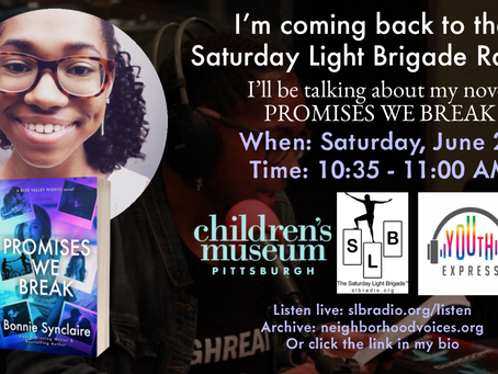 NEWS: Tune In to My LIVE Radio Interview with the Saturday Light Brigade!