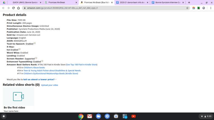 PWB Kindle bestseller ranks (6-23-20).pn