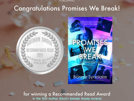 Promises We Break Received Its First Award!