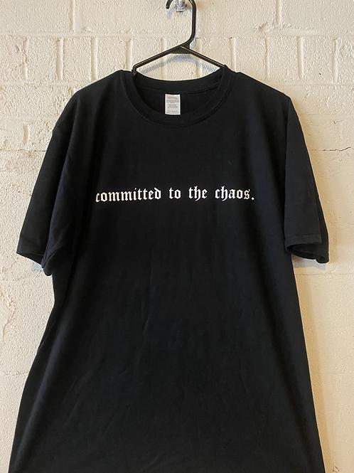 Chaos Tee (White Text)