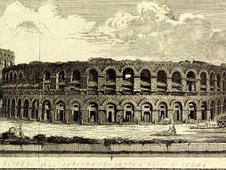 Verona, solo bufale nell'Arena