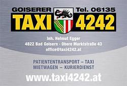 Taxi Bad Goisern