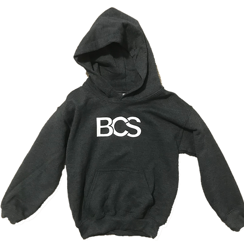BCS Kids Gray Hoodie