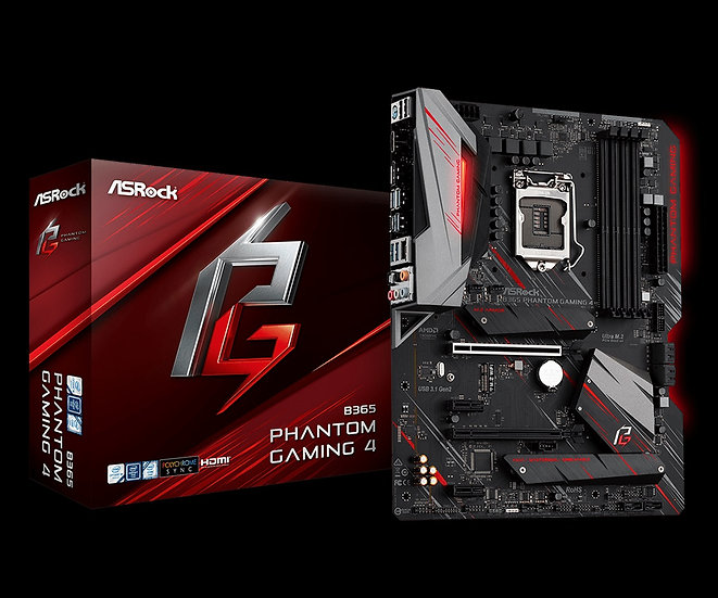 ASRock B365 PHANTOM GAMING 4 Motherboard