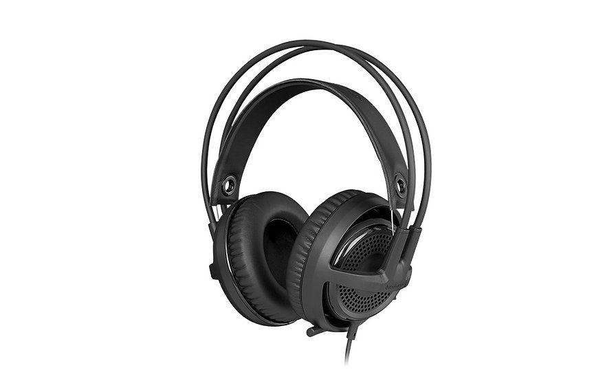 SteelSeries Siberia P300 Over Ear Headset Black