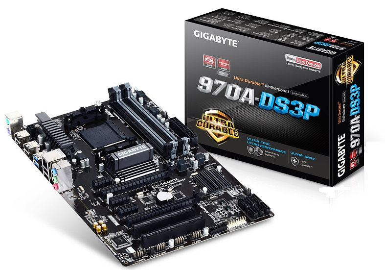 GIGABYTE 970A-DS3P Ultra Durable Motherboard