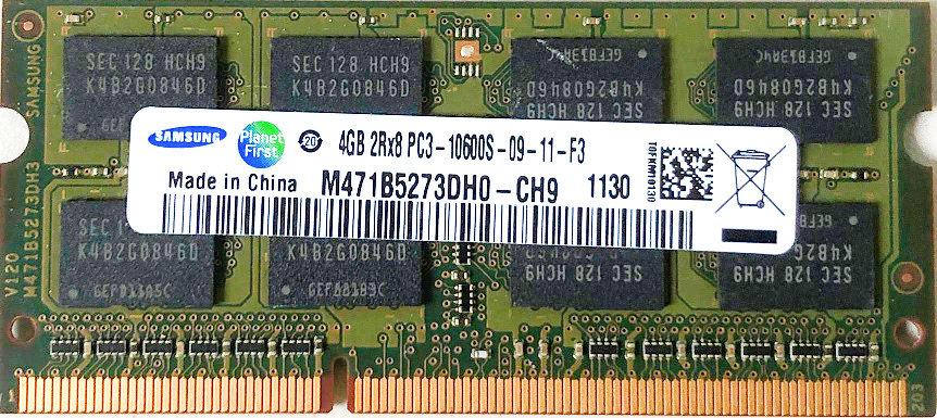 Samsung 4GB DDR3 M471B5273DH0-CH9