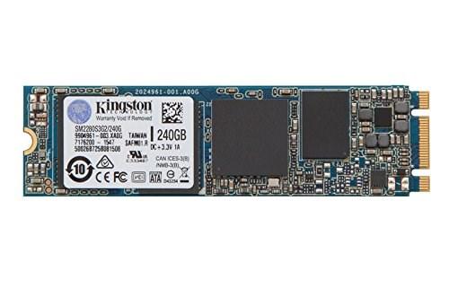 SM2280S3G2/240G Kingston 240GB MLC SATA 6Gbps M.2 2280 Internal SSD
