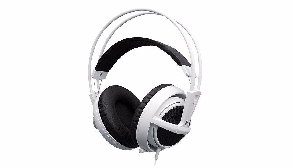 SteelSeries Siberia V2 Full-Size White Headband Headsets