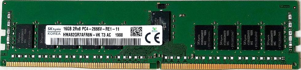 Hynix 16GB 2Rx8 - 2666V - RE1 - 11 HMA82GR7AFR8N-VK T3 AC PC4