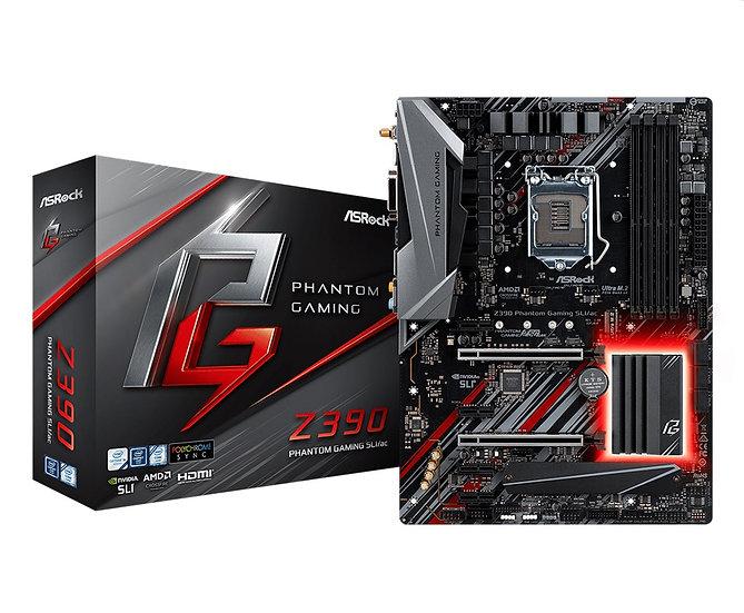 ASRock Z390 Phantom Gaming SLI/ac Motherboard
