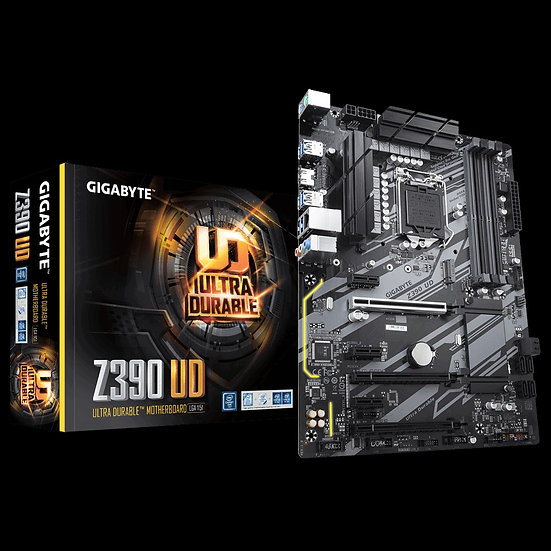 GIGABYTE  - Intel Z390 UD Motherboard 2-Way CrossFire™ Multi-Graphics