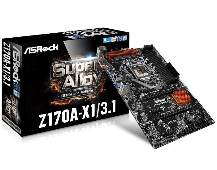 ASRock Z170A-X1/3.1 Motherboard ATX DDR4 LGA