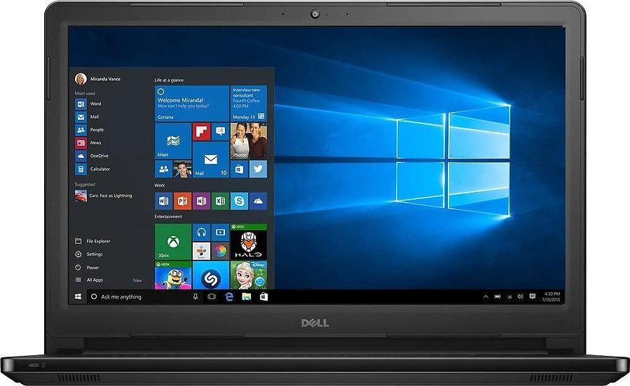 """Dell Inspiron 15"""" 5566 i7 7500 7th gen black laptop"""