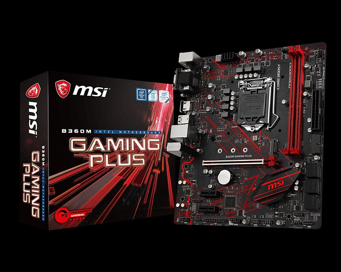 MSI B360 M Gaming Plus Intel Motherboard