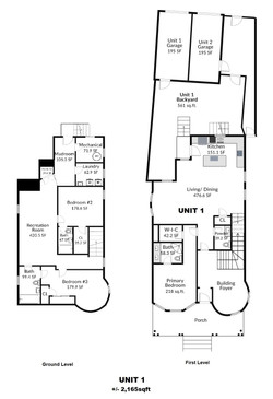 Unit #1 Floorplan