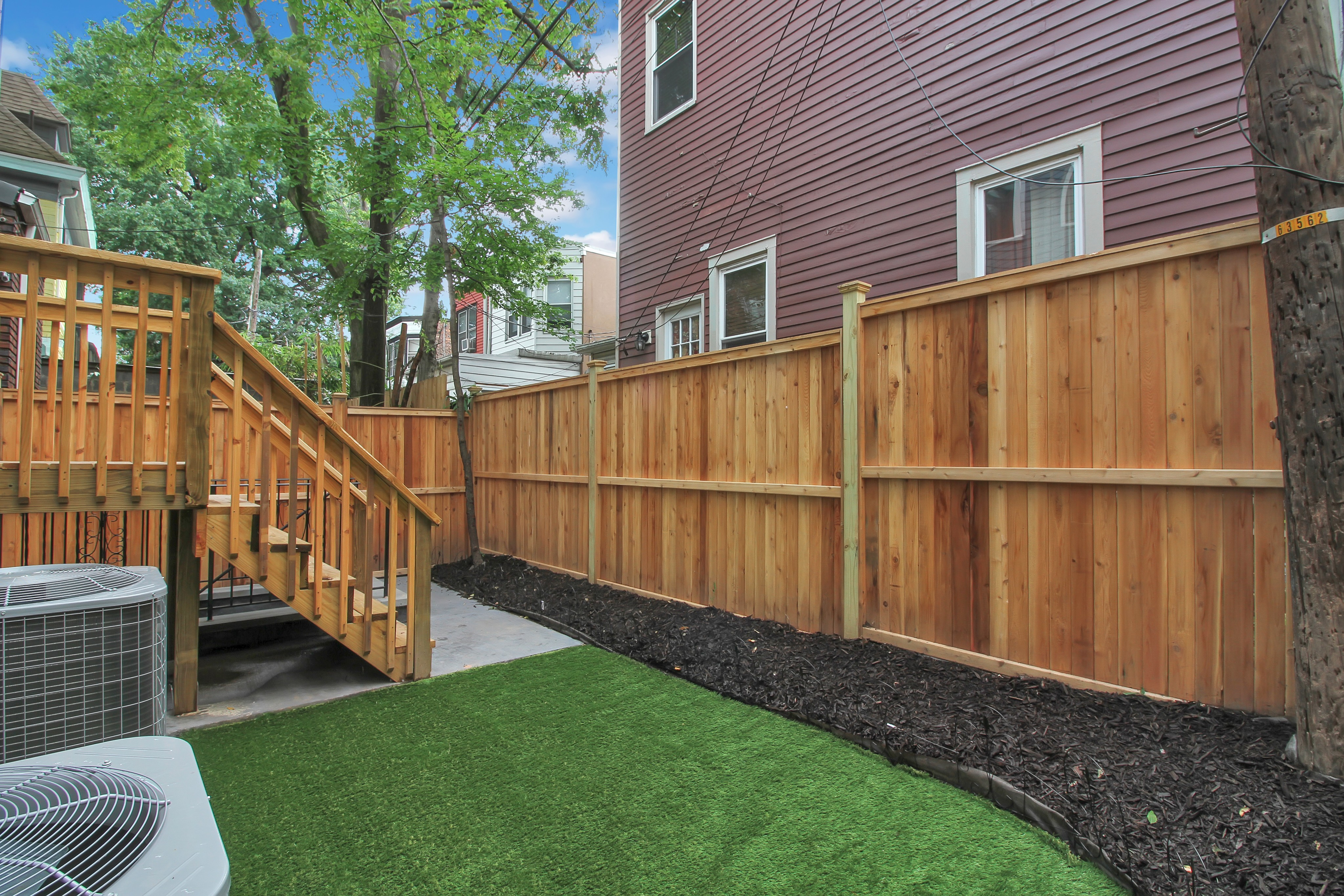 Fenced-in Private Backyard