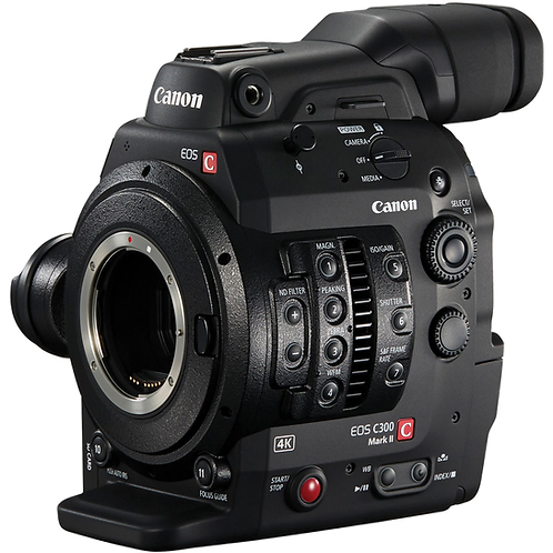 Canon C300 MKII (PL or EF Mount)