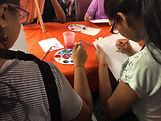 Kids creating art in AIM.JPG