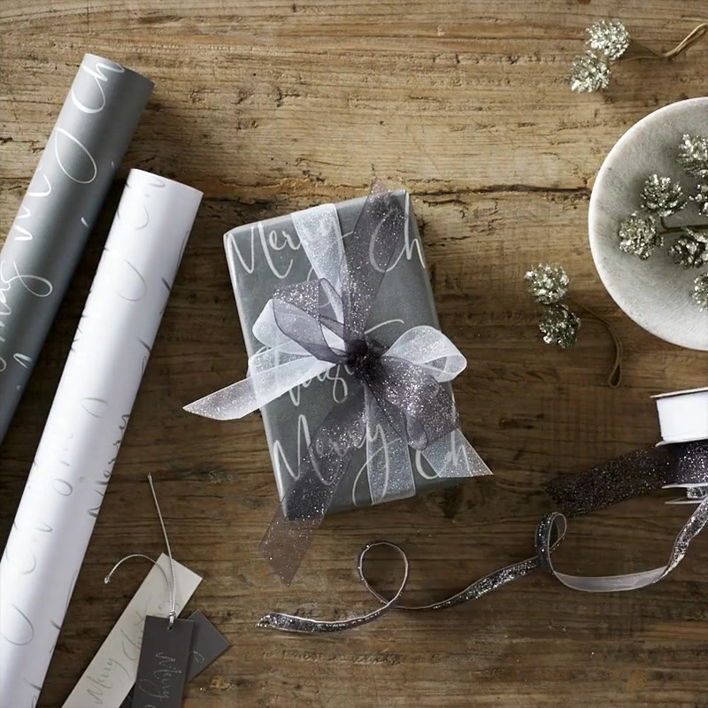 The White Company Christmas Wrap Ribbons