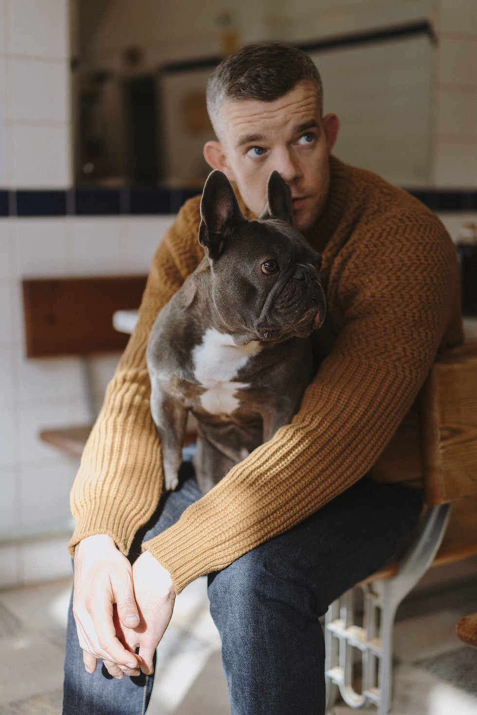 DOG Magazine Russell Tovey Editorial