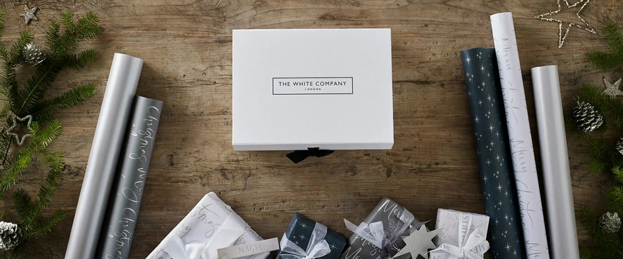 The White Company Christmas Wrapping