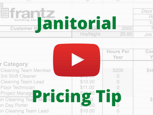 Janitorial Pricing Tip - Our Most Popular Video