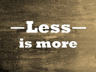 Essentialism - 3 Steps To Make Less More
