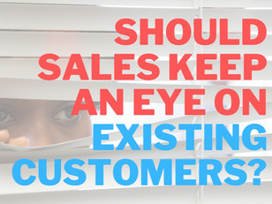 Should Your Sales Reps Help Manage Your Existing Customers?