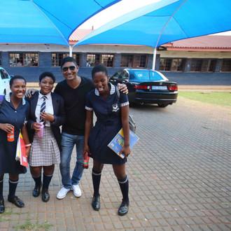 Moletsane High School Visit