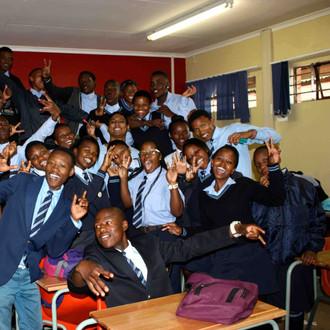 Phefeni High School visit