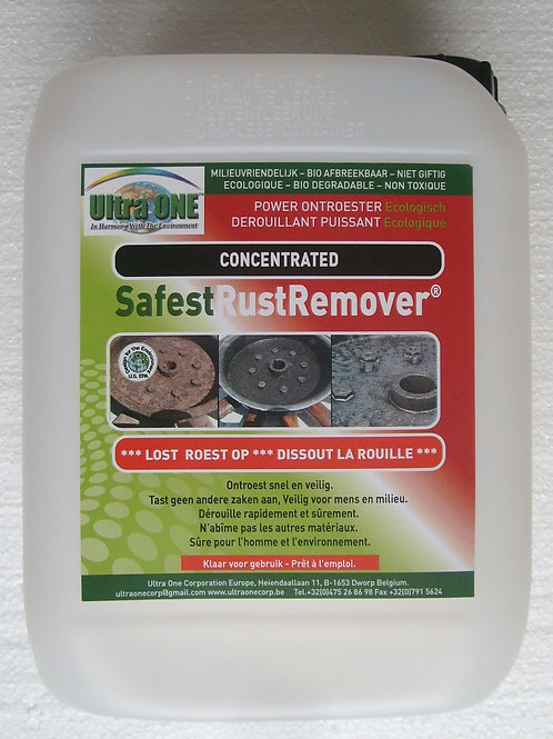 SafestRustRemover Concentrated 5L