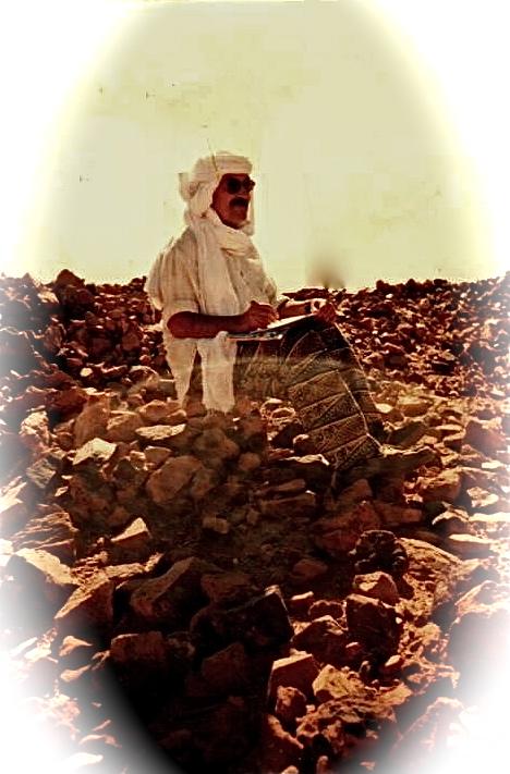 Escrevendo no deserto