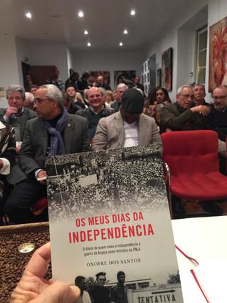 Ontem na Casa de Angola