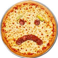 O dia acabou em pizza