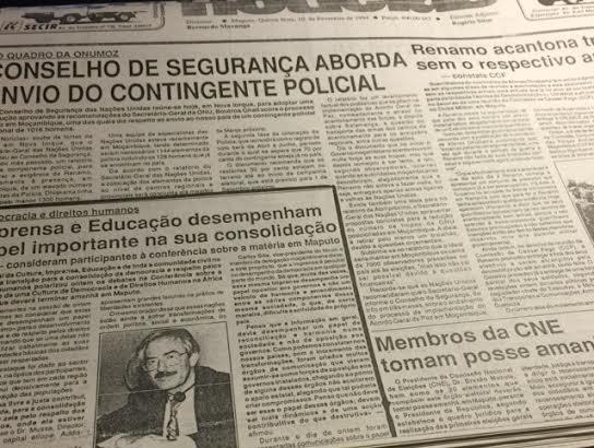 Moçambique antes das eleições