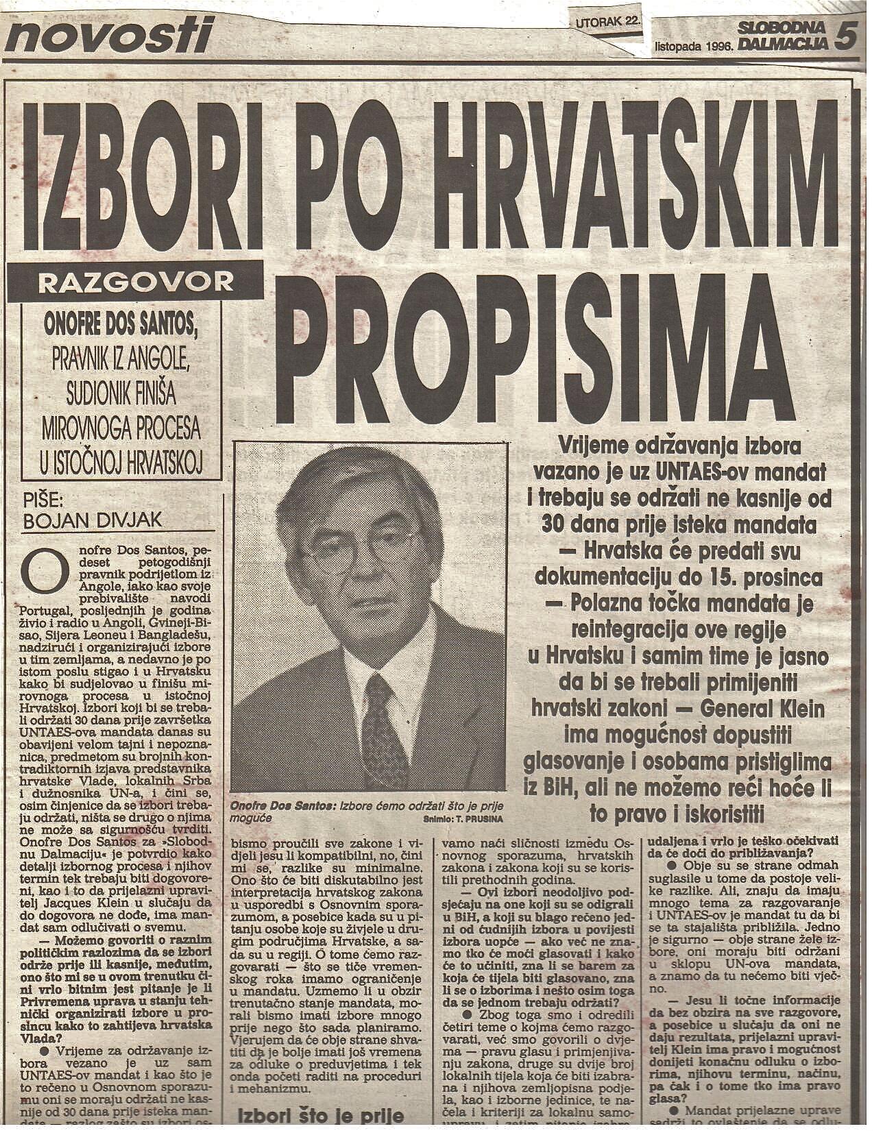 Eleições na Croácia 1997