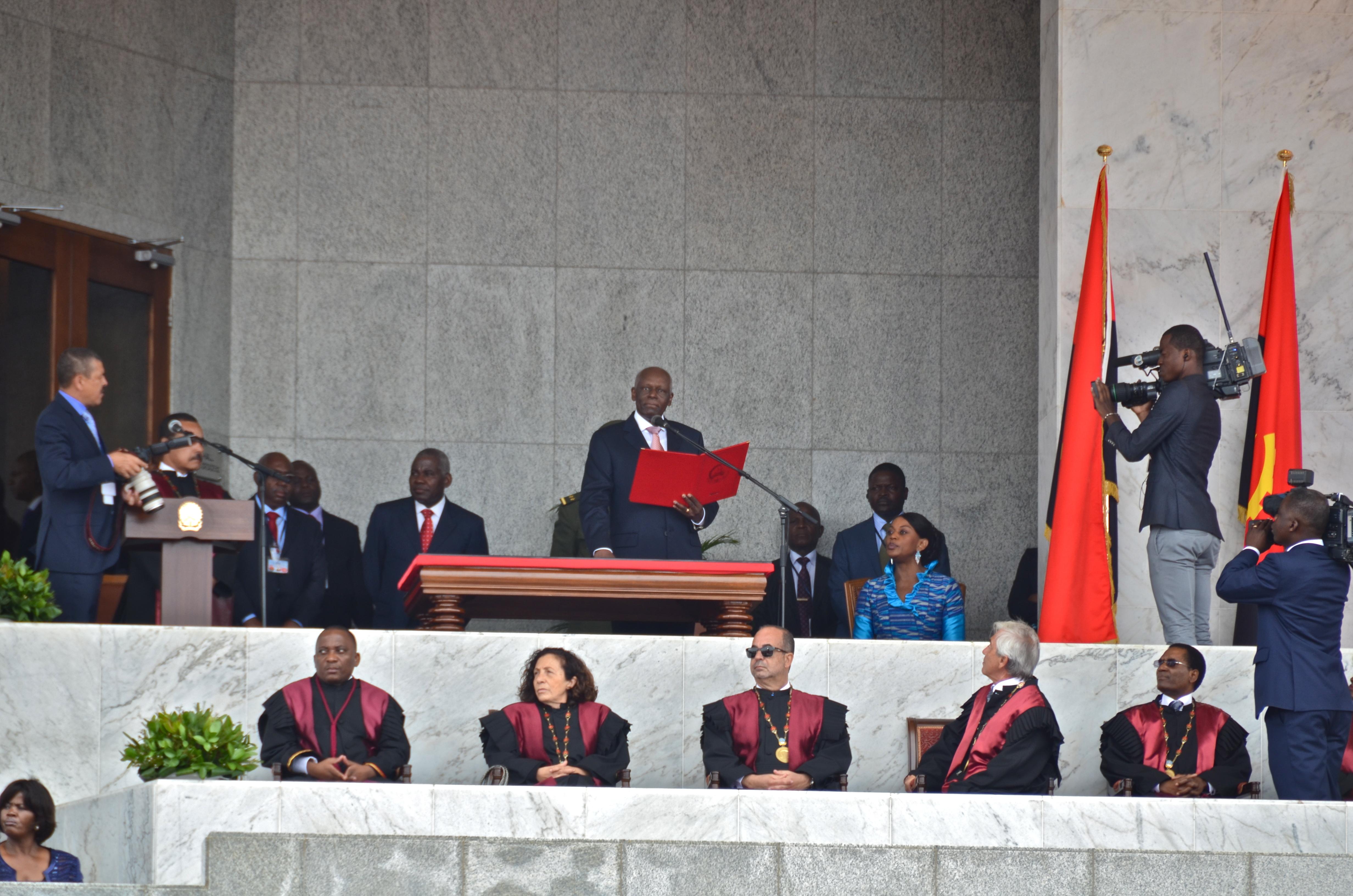Juramento do Presidente República
