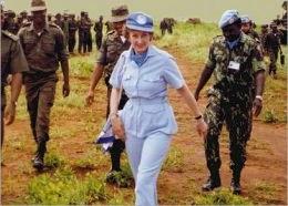 Margaret Anstee Representante ONU