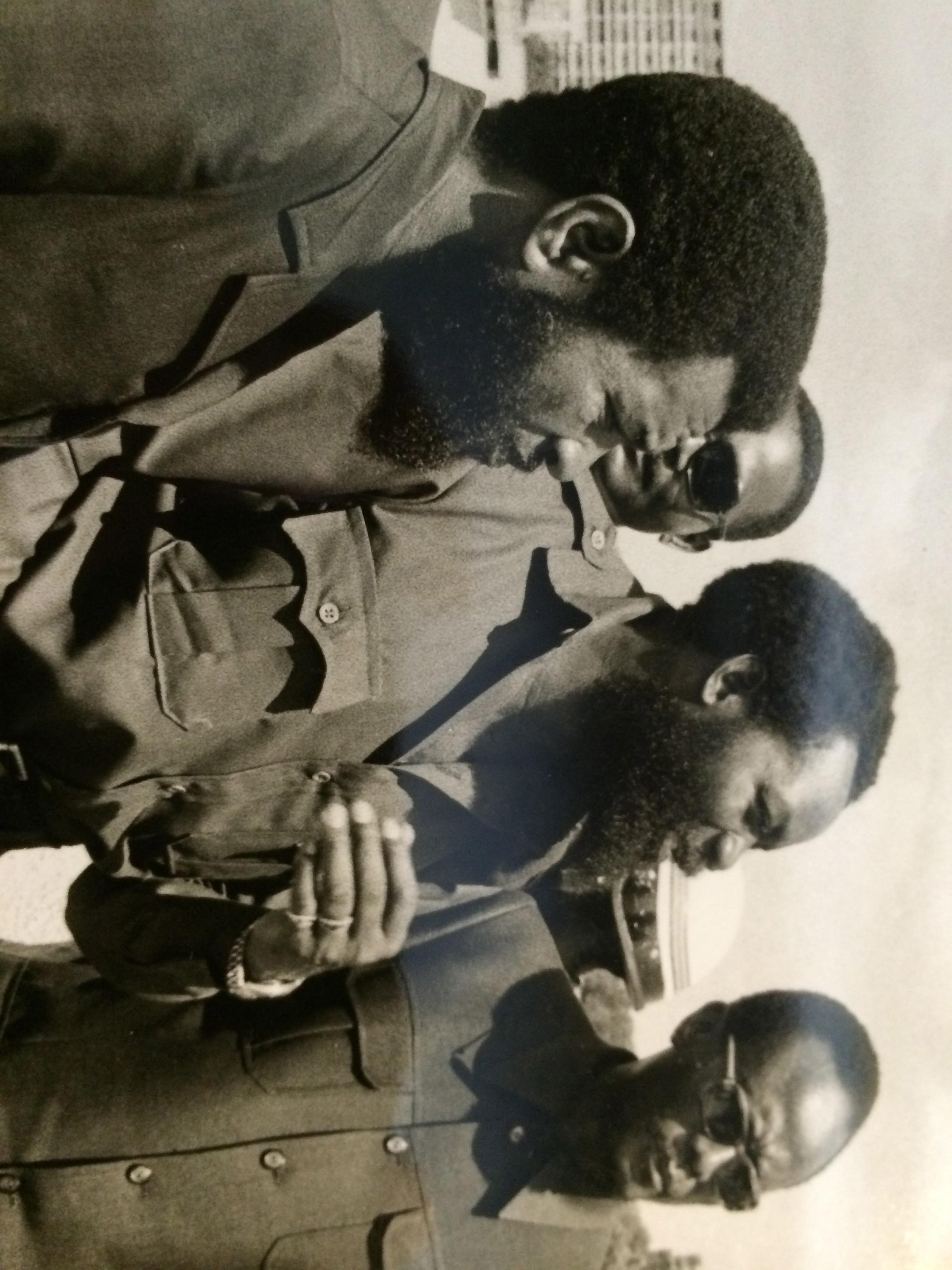 Holden, Chipenda e Savimbi